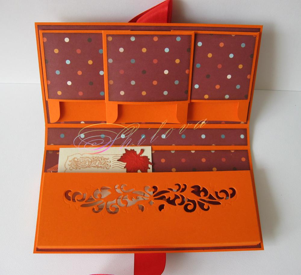 Открытки с кармашками для подарка своими руками