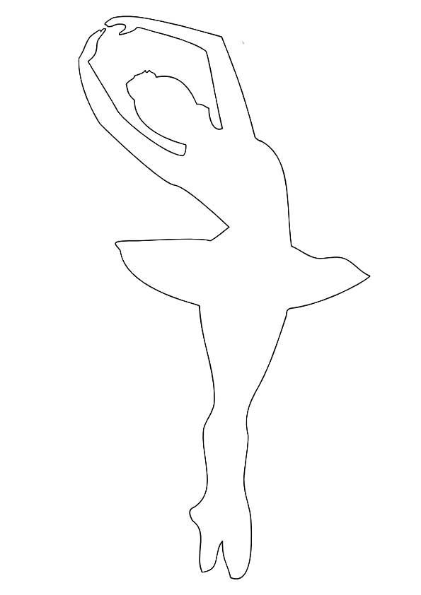 Как сделать снежинку с балериной из бумаги